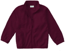 Classroom Uniforms 59200R Toddler Zip Front Jacket, 100% Polyester