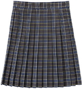 Classroom Uniforms 5P5323A Knife Pleat Skirt Model 32, 100% Polyester