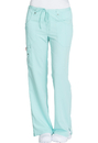 Dickies Medical 82011 Mid Rise Drawstring Cargo Pant, 75% Polyester, 21% Rayon, 4% Spandex, Pant, Xtreme Stretch