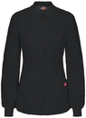 Dickies Medical 85304A Snap Front Warm-up Jacket, 55% COTTON 43% POLY 2% Spandex, Warm Up Jacket, EDS Signature Stretch