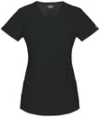 Dickies Medical 85956 Mock Wrap Top, 75% Polyester, 21% Rayon, 4% Spandex, Top, Xtreme Stretch