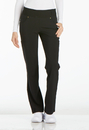Cherokee CK002 Mid Rise Straight Leg Pull-on Pant, 94% Polyester, 6% Spandex, Pant, iflex