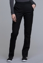 Cherokee CK040 Natural-Rise Tapered Leg Pant 51% Polyester 46 % Rayon 3% Spandex Twill