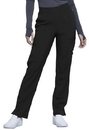 Cherokee CK065A Mid Rise Tapered Leg Pull-on Pant,95% Polyester / 5% Spandex Poplin