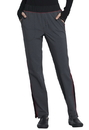 Cherokee CK125A Mid Rise Tapered Leg Pull-on Pant,95% Polyester / 5% Spandex Heathered Poplin