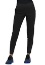 Cherokee CK175 Mid-Rise Tapered Leg Pull-on Pant,76% Polyester / 19% Rayon / 5% Spandex Linear Texture