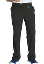 Cherokee CK200A Men's Fly Front Pant, 95% Poly 5% Spandex , Pant, Infinity Men
