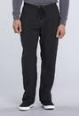 Cherokee CK210AS Men's Tapered Leg Drawstring Pant 95% Polyester 5% Spandex Poplin