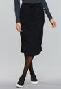 Cherokee CK505A Drawstring Skirt, 95% Polyester / 5% Spandex Poplin