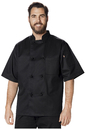 Dickies Chef DC48 Unisex Classic Knot Button Chef Coat S/S