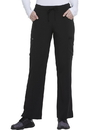 Dickies Medical DK010P Mid Rise Straight Leg Drawstring Pant 95% Polyester 5% Spandex Poplin