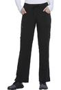 Dickies Medical DK010 Mid Rise Straight Leg Drawstring Pant 95% Polyester 5% Spandex Poplin