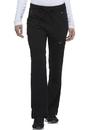 Dickies Medical DK020P Mid Rise Rib Knit Waistband Pant 75% Polyester 21% Rayon 4% Spandex Twill