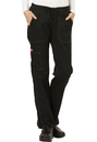 Dickies Medical DK100P Low Rise Straight Leg Drawstring Pant, Petite, Inseam length 28