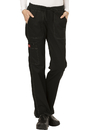 Dickies Medical DK100 Low Rise Straight Leg Drawstring Pant, 52% Cotton 45% Poly 3% Spandex, Pant, Gen Flex (Contrast)