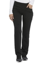 Dickies DK135P Mid Rise Straight Leg Pull-on Pant,77% Polyester / 20% Rayon / 3% Spandex Twill