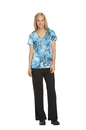Dickies Medical DK701 V-Neck Top, 95% Poly 5% Spandex , Top, Bright Time, Bright Place