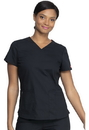 Dickies DK880 Dickies EDS Signature V-Neck Top, Brushed 55% Cotton / 45% Polyester Poplin