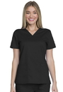 Dickies GD600 Genuine Dickies Industrial Strength V-Neck Top,80% Polyester / 20% Cotton Stretch Twill