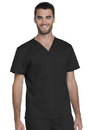 Dickies GD620 Genuine Dickies Industrial Strength Unisex V-Neck Top,80% Polyester / 20% Cotton Stretch Twill