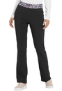 Heartsoul HS085 Natural Rise Moderate Flare Pant, 95% Polyester / 5% Spandex Poplin