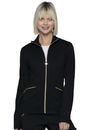 Heartsoul HS325 HeartSoul Love Always Zip Front Jacket,74% Polyester / 22% Rayon / 4% Spandex Ponte Knit