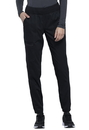 Cherokee WW011T Natural Rise Tapered Leg Jogger Pant,78% Polyester / 20 % Rayon / 2% Spandex Twill