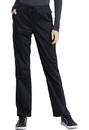 Cherokee WW041AB Mid Rise Straight Leg Drawstring Pant, 78% Polyester / 20 % Rayon / 2% Spandex Twill