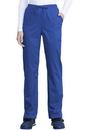 Cherokee WW041ABP Mid Rise Straight Leg Drawstring Pant, 78% Polyester / 20 % Rayon / 2% Spandex Twill