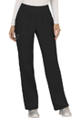 Cherokee WW110P Mid Rise Straight Leg Pull-on Pant 78% Polyester 20 % Rayon 2% Spandex Twill