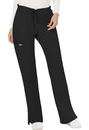 Cherokee WW120T Mid Rise Moderate Flare Drawstring Pant, Tall, Inseam 34