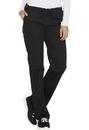 Cherokee WW130 Mid Rise Straight Leg Drawstring Pant 55% Cotton 42% Polyester 3% Spandex Twill