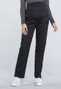 Cherokee WW220P Maternity Straight Leg Pant 63% Polyester 34% Cotton 3% Spandex Poplin