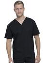 Cherokee WW605 WW Professionals Unisex Pocketless V-Neck Top,63% Polyester / 34% Cotton / 3% Spandex Poplin