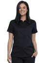 Cherokee WW669 WW Revolution Hidden Snap Front Collar Shirt,78% Polyester / 20 % Rayon / 2% Spandex Twill
