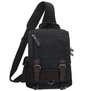 Large Sling Backpack Crossbody Book Bag Chest Shoulder Rucksack for Men Women
