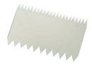 Chocolate World 227360 Dough scraper comb 112 x 78 mm