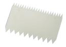 Chocolate World 227360 Dough scraper comb 112 x 78 mm