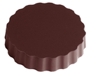 Chocolate World CW1000L03 Chocolate mould magnetic round 50 mm