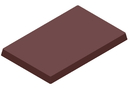 Chocolate World CW1000L16 Chocolate mould magnetic business card