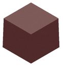 Chocolate World CW1000L20 Chocolate mould magnetic cube