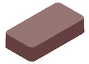 Chocolate World CW1000L30 Chocolate mould magnetic rectangular