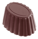 Chocolate World CW1003 Chocolate mould cup oval