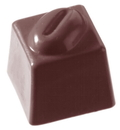 Chocolate World CW1019 Chocolate mould cube coffee bean 14 gr
