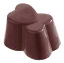 Chocolate World CW1023 Chocolate mould heart double 3x8