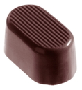 Chocolate World CW1031 Chocolate mould oval shaded