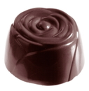 Chocolate World CW1033 Chocolate mould large rose