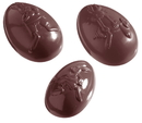 Chocolate World CW1042 Chocolate mould egg olympia 82 mm 6 fig.