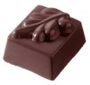 Chocolate World CW1044 Chocolate mould rectangular leaf 16 gr