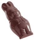 Chocolate World CW1055 Chocolate mould smiling hare